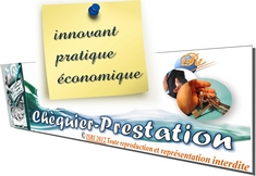 Chéquier-Prestation isri france - Widget