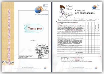 Risques Psychosociaux isri france - STRESS-TEST